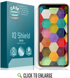 Apple iPhone XS Matte Screen Protector (Case Friendly)(2-Pack)(5.8