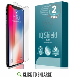 Apple iPhone XS Matte Screen Protector [Max Coverage](5.8