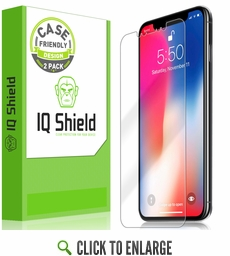 Apple iPhone XS Max LiQuid Shield Screen Protector (Case Friendly)(2-Pack)(6.5