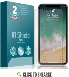 Apple iPhone XS Max Matte Screen Protector [Max Coverage](6.5