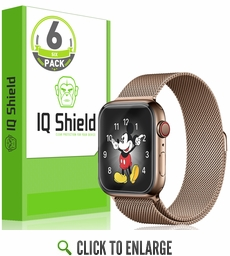 Apple Watch Series 4 LiQuid Shield Screen Protector 6-Pack (40mm)[Easy Install]