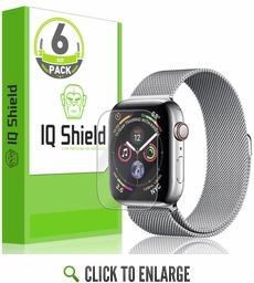 Apple Watch Series 4 LiQuid Shield Screen Protector 6-Pack (40mm)(Max Coverage)