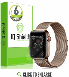 Apple Watch Series 4 LiQuid Shield Screen Protector 6-Pack (44mm)[Easy Install]