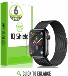 Apple Watch Series 4 LiQuid Shield Screen Protector 6-Pack (44mm)(Max Coverage)