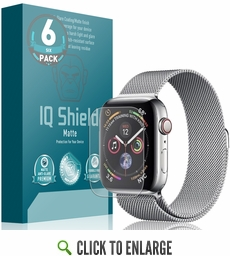 Apple Watch Series 4 Matte Screen Protector 6-Pack (40mm)(Max Coverage)