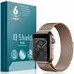 Apple Watch Series 4 Matte Screen Protector 6-Pack (44mm)[Easy Install]