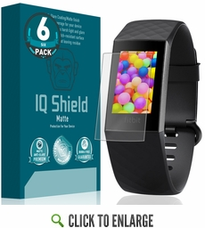 Fitbit Charge 3 Matte Screen Protector [6-Pack]