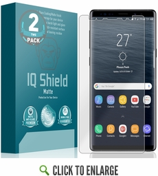 Galaxy Note 9 Matte Screen Protector (Max Coverage)(2-Pack)