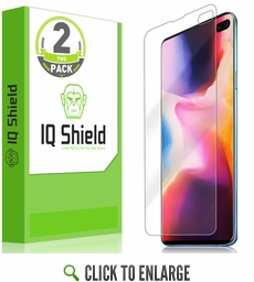 Galaxy S10 Plus LiQuid Shield Screen Protector [Max Coverage](2-Pack)(6.4