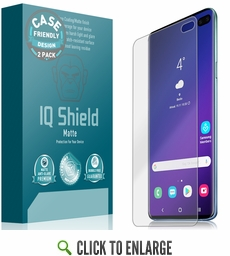 Galaxy S10 Plus Matte Screen Protector (Case Friendly)(2-Pack)(6.4