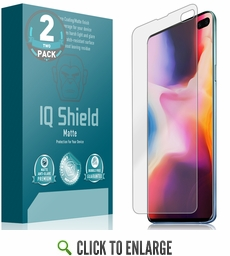 Galaxy S10 Plus Matte Screen Protector [Max Coverage](2-Pack)(6.4