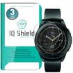 IQ Shield� Tempered Glass � Samsung Galaxy Watch Glass Screen Protector (42mm)[3-Pack]
