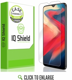 OnePlus 6T LiQuid Shield Screen Protector [Case Friendly][2-Pack]
