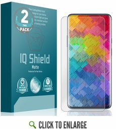 OnePlus 7 Pro Matte Screen Protector (2-Pack)[Max Coverage]