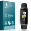 """Samsung Galaxy Fit E Matte Screen Protector 6-Pack (.74"""" Display Wearable)"""