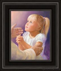 A Child's Prayer by Jay Bryant Ward - 12 Framed & Unframed Options