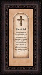 Man of God Framed Christian Wall Art