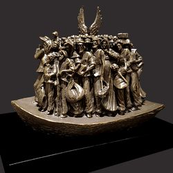 Angels Unawares Christian Sculpture by Timothy Schmalz - 3 Sizes Available