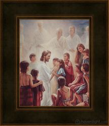Behold Your Little Ones by Del Parson - 11 Framed & Unframed Choices