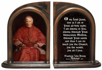 Bl. Cardinal Newman Bookends