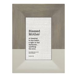 Blessed Mother Framed Tabletop Christian Home Decor