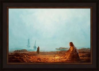 By The Shore by Yongsung Kim - 16 Canvas Giclee Options