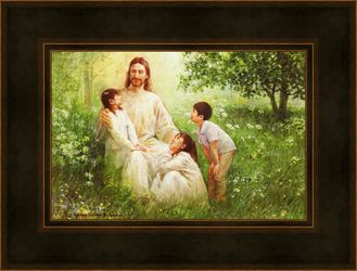 Christ And Asian Children by Yongsung Kim - 10 Options Available