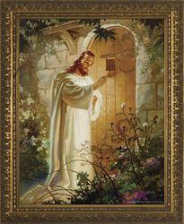 Christ at Heart's Door by Warner Sallman - 3 Sizes Available