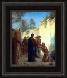 Christ Healing by Carl Bloch - 2 Options Available