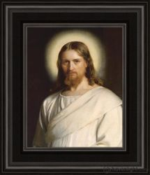 Christ With Nimbus by Carl Bloch - 2 Options Available
