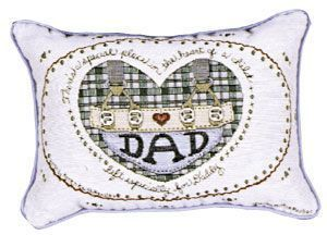 Dad Message Pillow