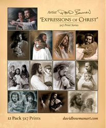 Expressions of Christ - Variety Pack - 5x7 Pack of 12