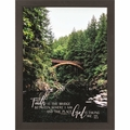 Faith Is A Bridge - Framed Christian Wall Decor