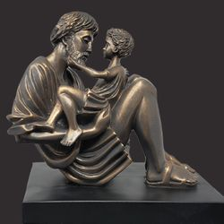 Father Christian Art Sculpture by Timothy P. Schmalz