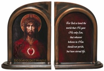 For God So Loved The World Bookends