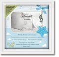 Framed Tabletop Christian Verse Photo Frame - Baby Boy