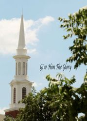 Give Him The Glory Christian Photograph - 3 Sizes Available