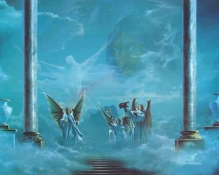 Heaven's Gate by Danny Hahlbohm - 5 Unframed Options
