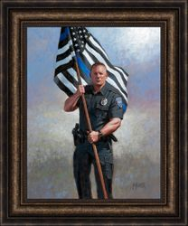 Hold The Blue Line by Jon McNaughton - 8 Options Available
