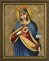 Immaculate Heart - Framed Christian Art