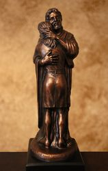 Jesus Embracing Woman by Niels Andersen