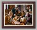 Jesus Speaks to the Learned Pharisees - 6 Framed & Unframed Options
