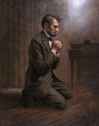 Lincoln's Prayer by Jon McNaughton