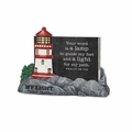 My Light - Lighthouse Scripture Keeper - Christian Home Decor