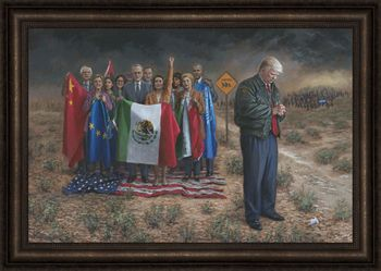 National Emergency by Jon McNaughton - 10 Options Available - NEW