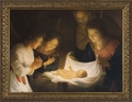 Nativity - Christian Art - 3 Framed Options