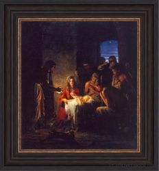 Nativity by Carl Bloch - 5 Canvas Options