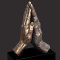 One Flesh Desktop Christian Sculpture by Timothy Schmalz