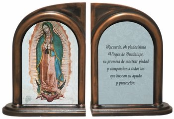 Our Lady of Guadalupe (Spanish) Bookends