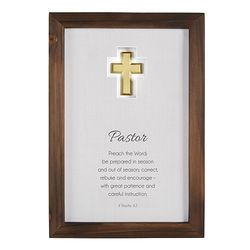 Pastor Framed Appreciation Gift